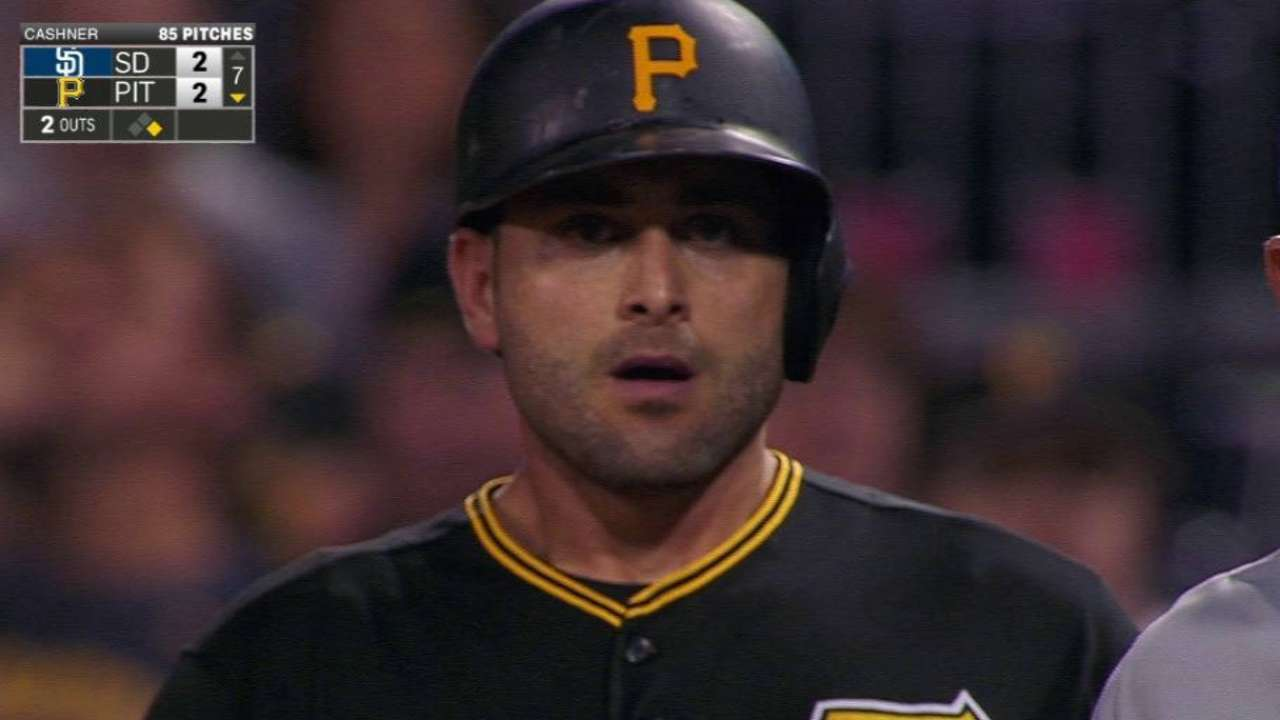 Cervelli ties the game