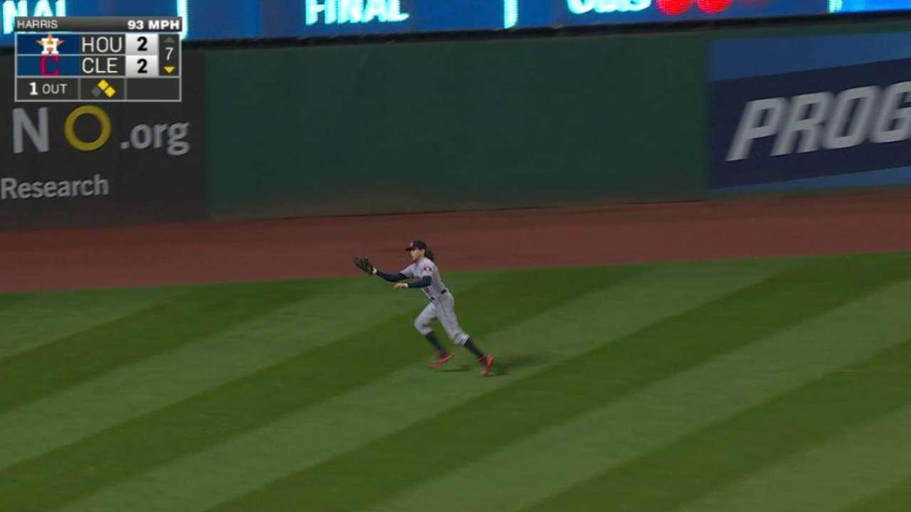 Rasmus' reaching catch