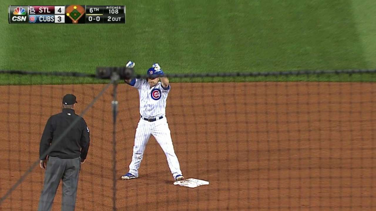 Montero's bases-clearing double