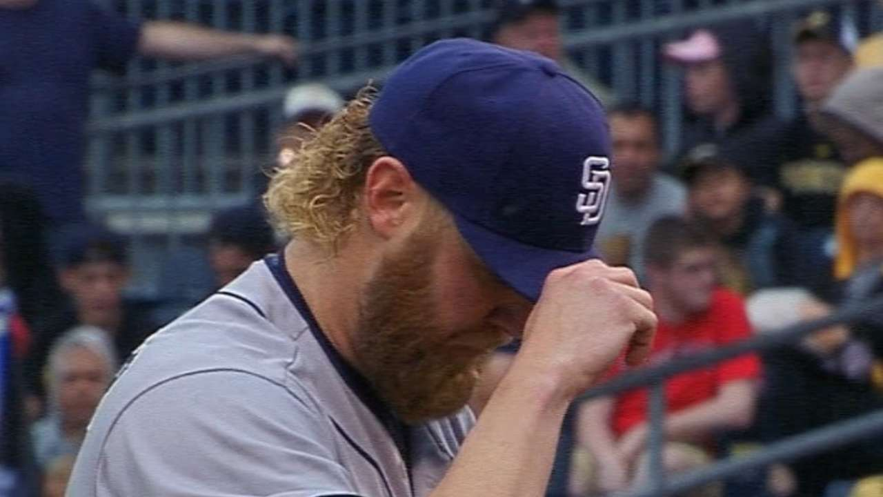 Padres looking for positives during losing skid