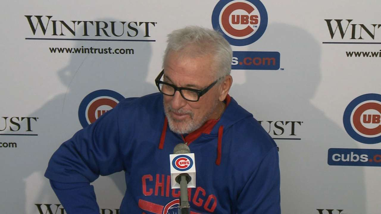 Maddon finds positives in Cubs' loss