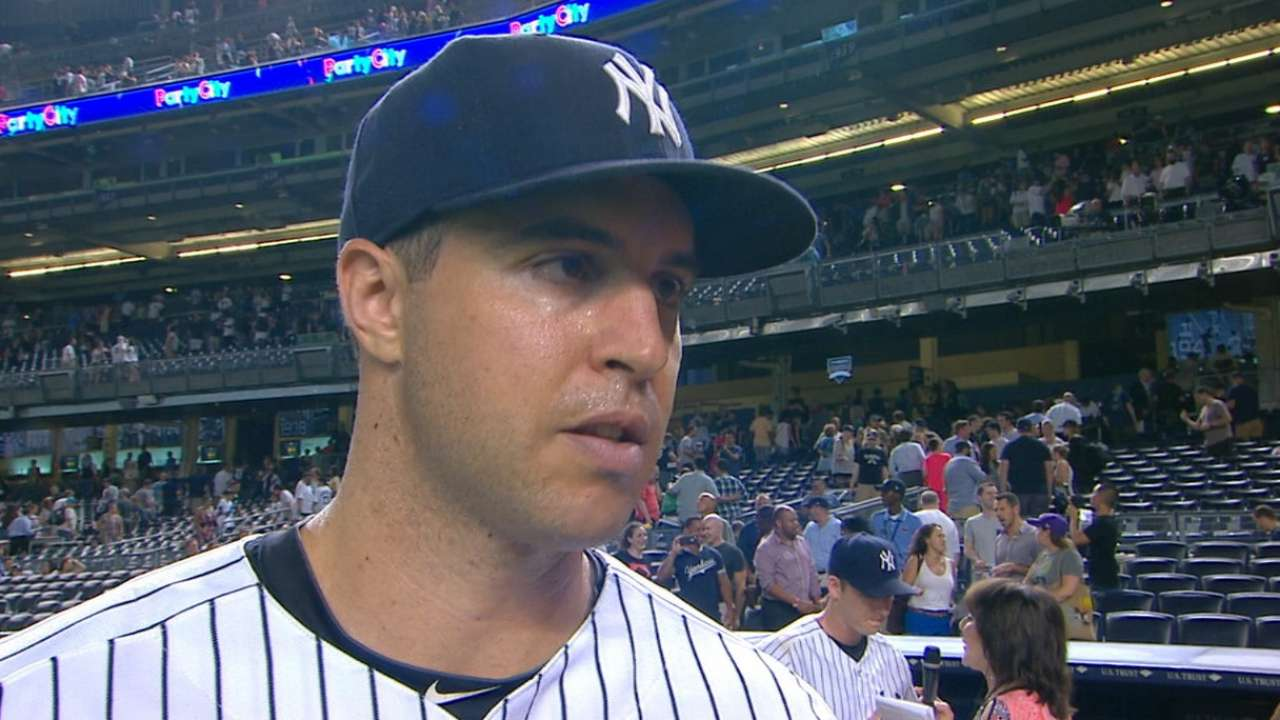 Yankees on win over Athletics