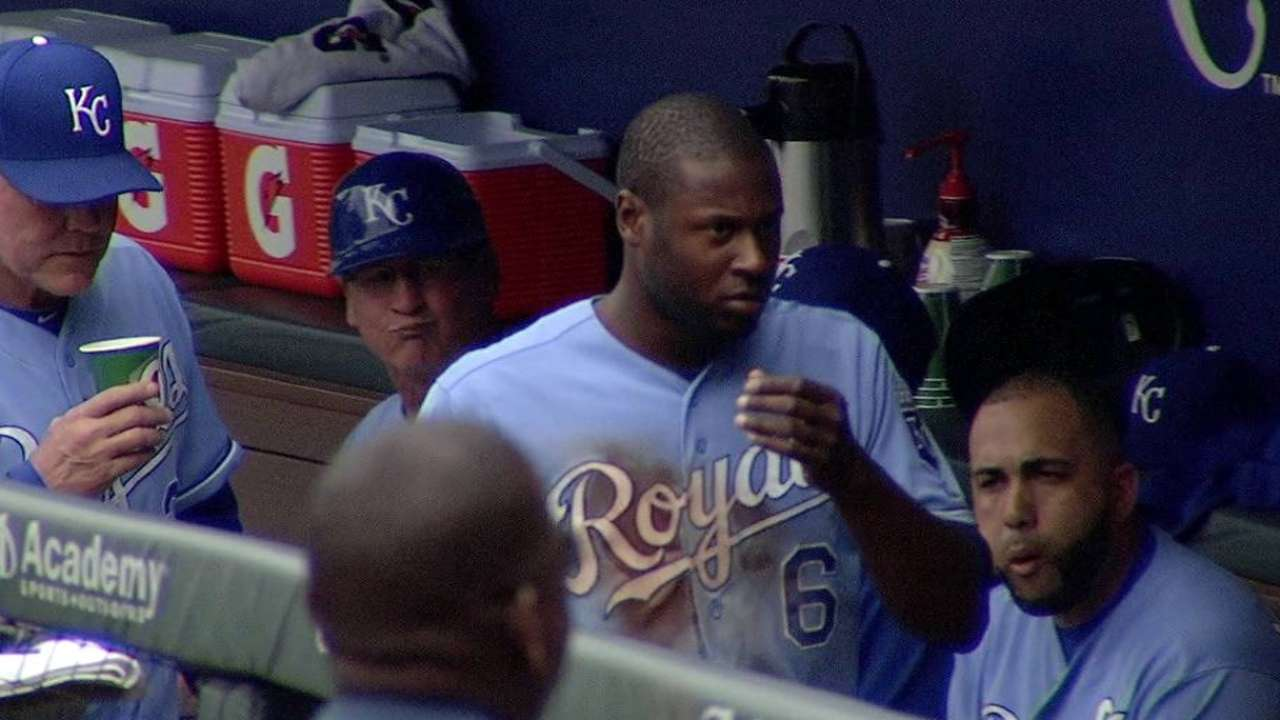 Cain ejected between innings