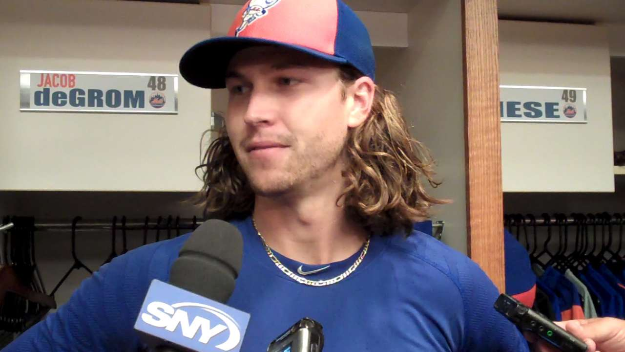 deGrom hoping for chance to face Trout in ASG