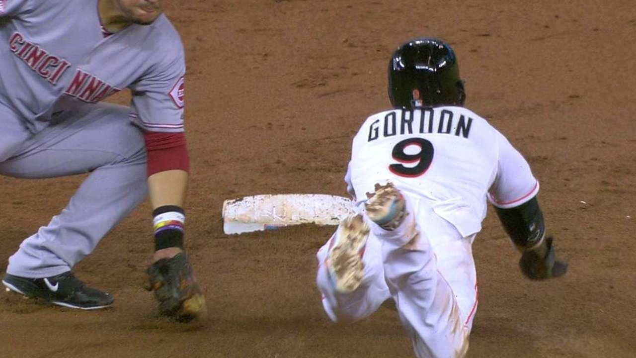 Barnhart nabs Gordon at second