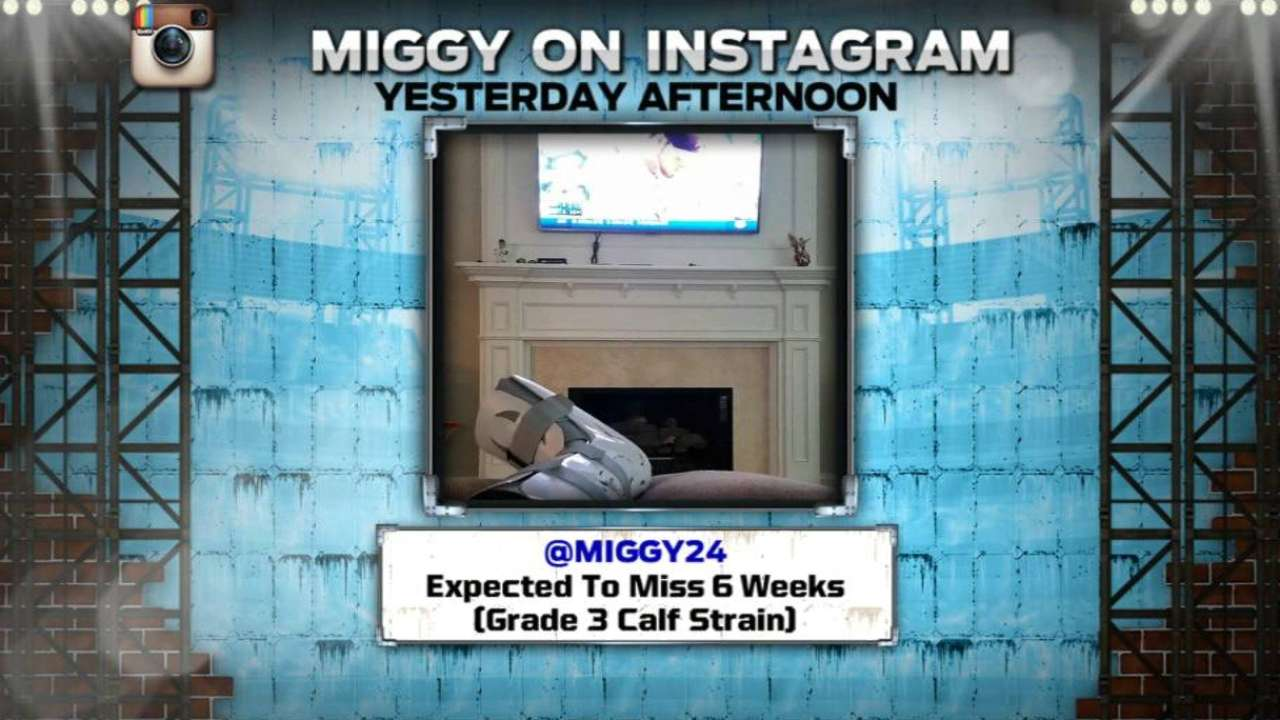 Miggy takes first steps on road to recovery