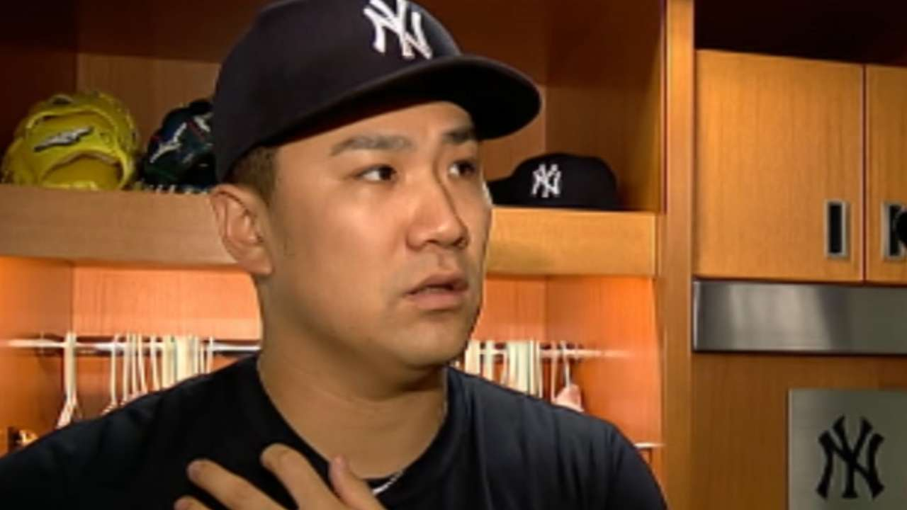 Tanaka on earning fifth win
