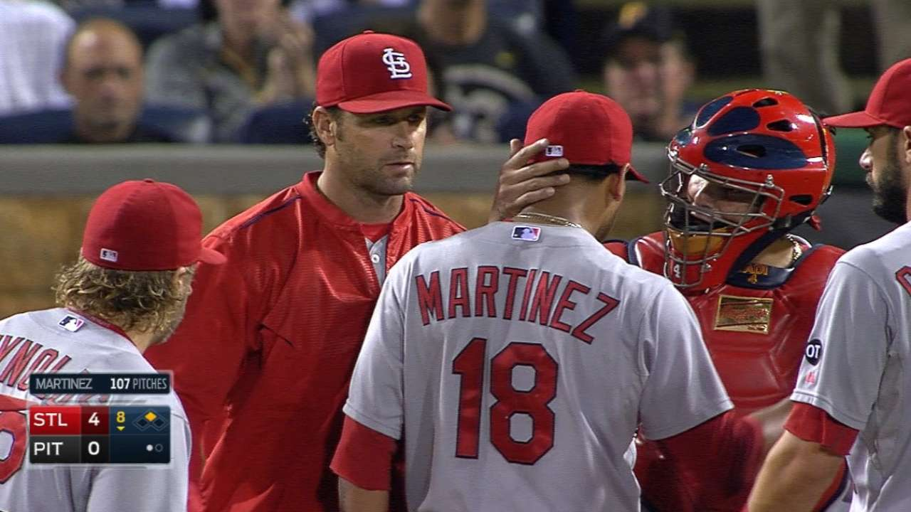 Martinez leads NL Final Vote; needs more help