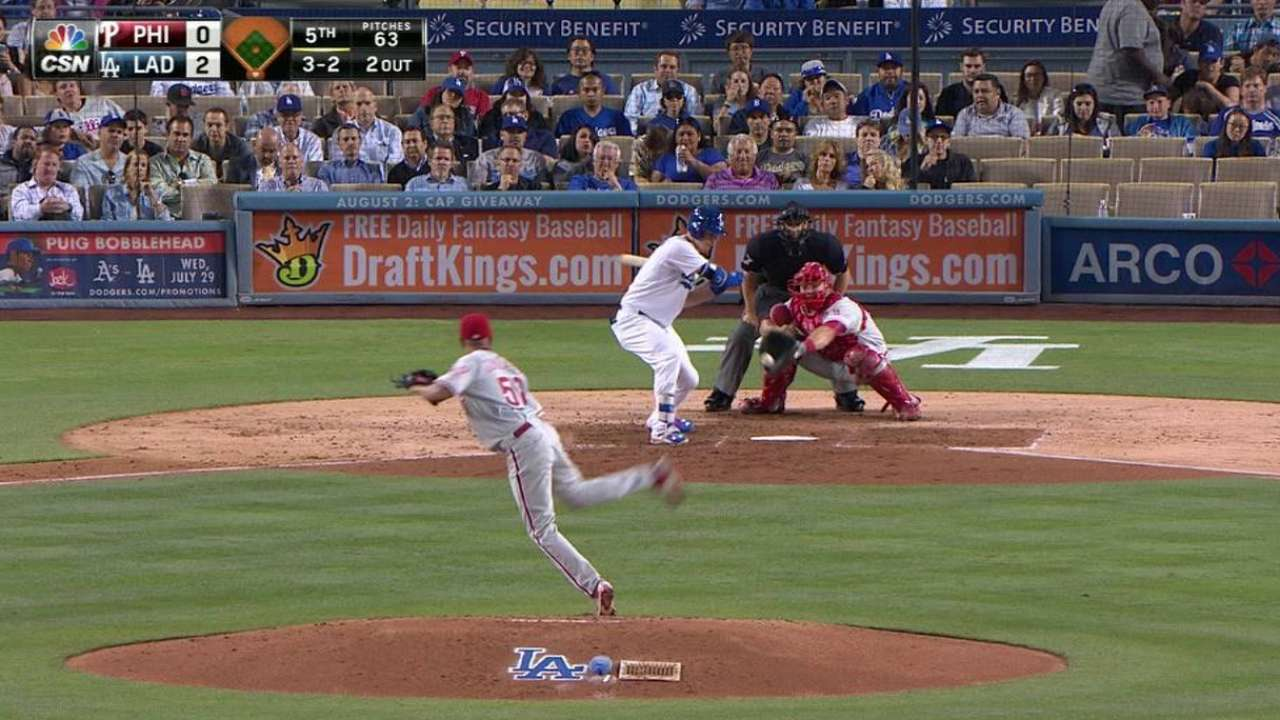 Phillies tip cap to Greinke after loss