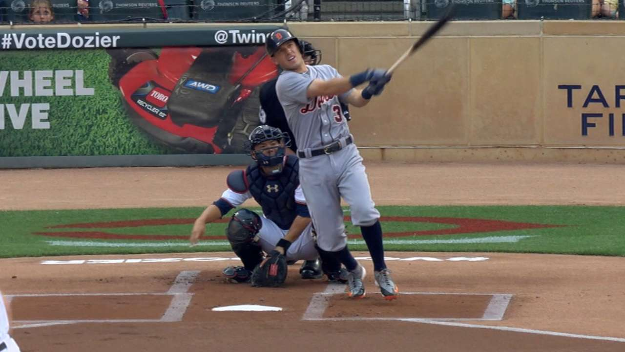 Well-rested Kinsler puts a charge in Tigers