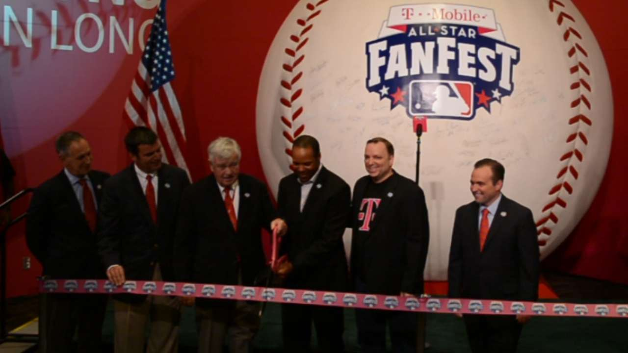 All-Star FanFest opens with Kids' Day