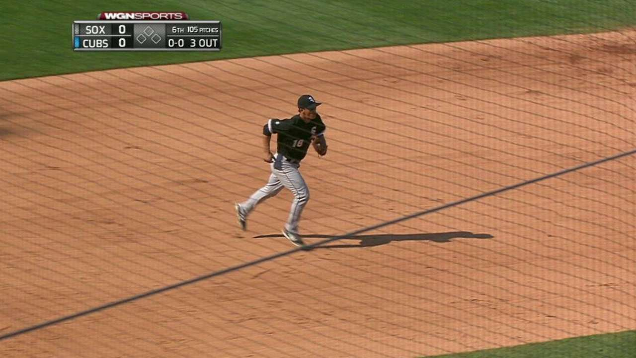 Saladino called up, plugged in at third base