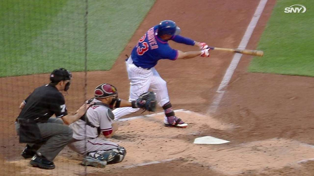 Collins confident Cuddyer will finish strong