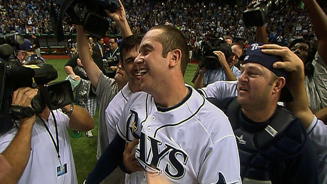 Longoria's walk-off homer