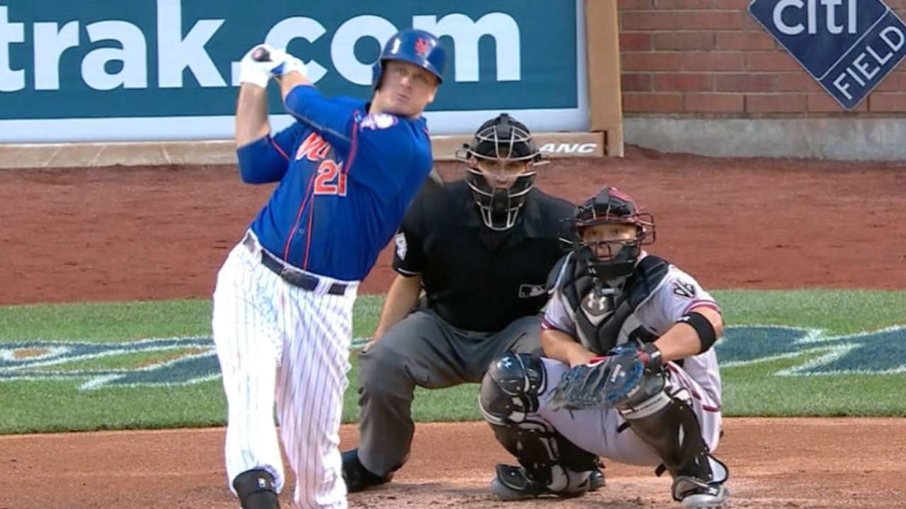 Duda, Cuddyer go back-to-back