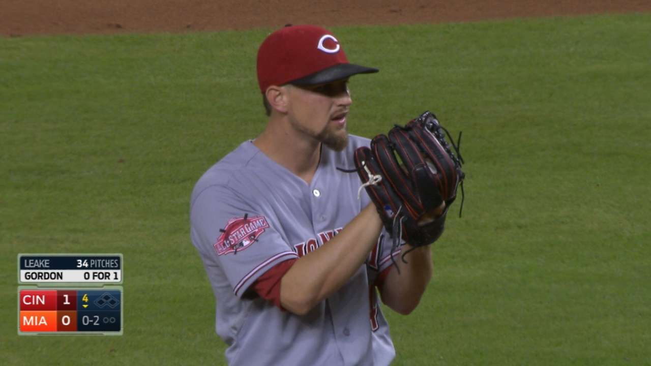 Leake finds extra gear against favorite foe