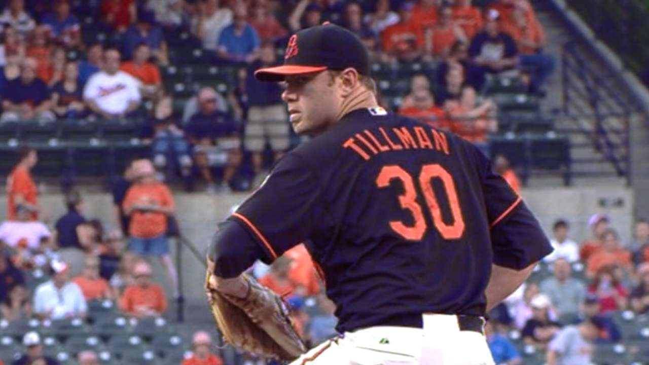 Tillman fans six over six