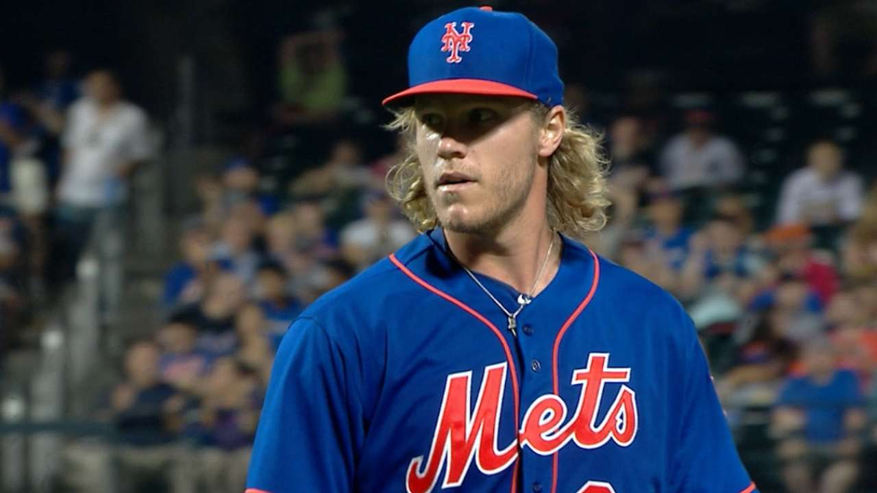 Mastery of home Syndergaard's calling card