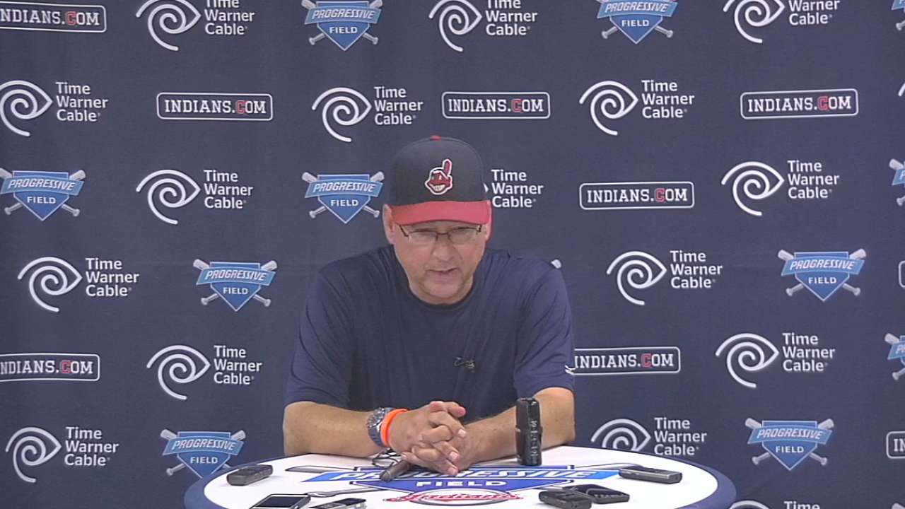 Francona on the Indians' 5-1 win