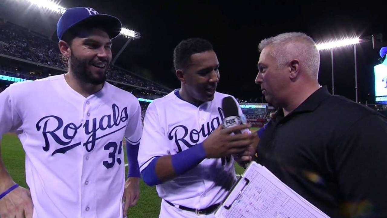 Perez, Hosmer on 3-0 win