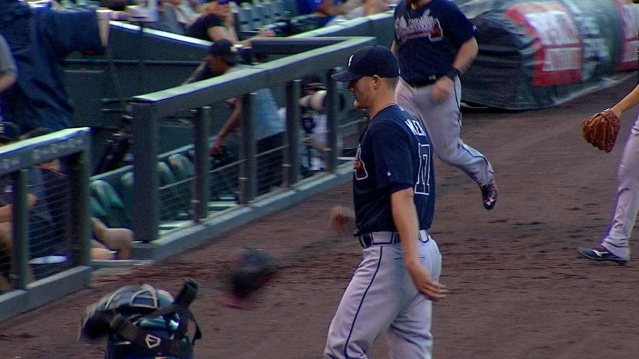 Breaks go against frustrated Miller at Coors