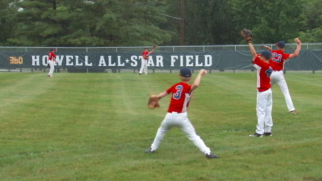 Youth ballparks get makeover in 'Reds Country'