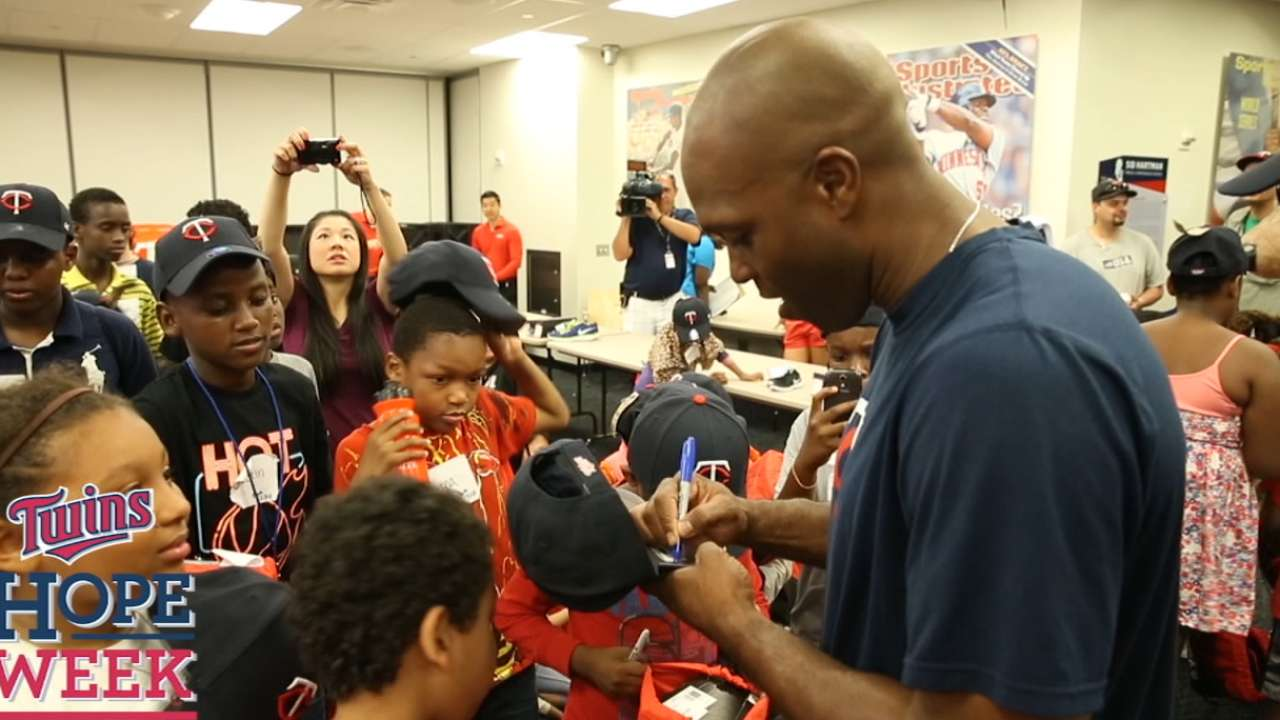 Torii a 3-time Clemente Award nominee