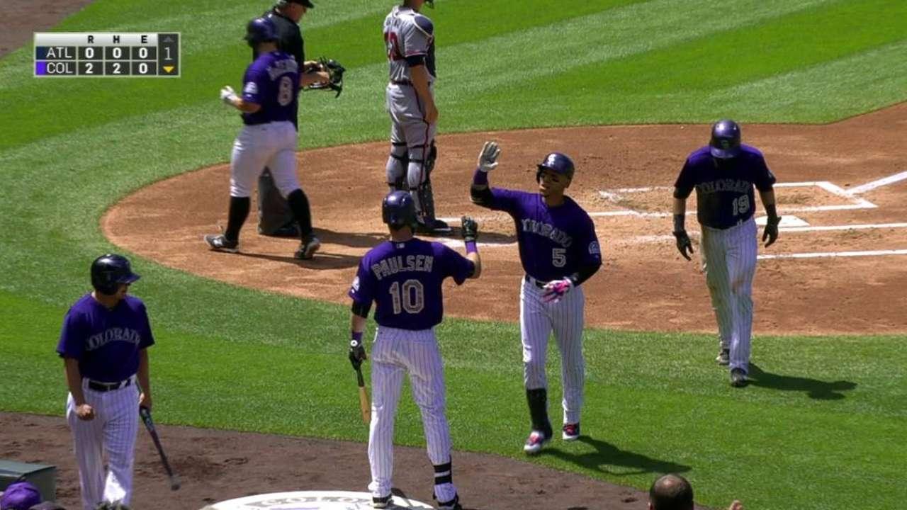 CarGo's two-run home run