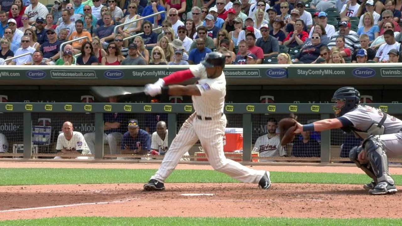 Twins pounce early to keep Tigers reeling