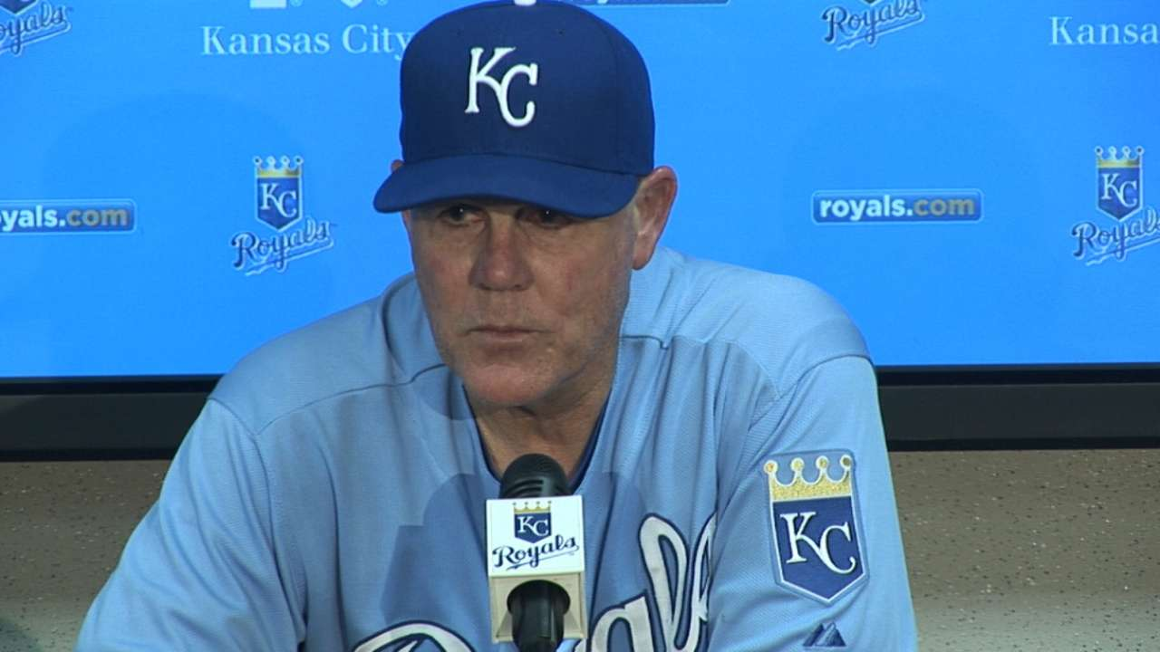 Yost on Royals' 6-2 loss