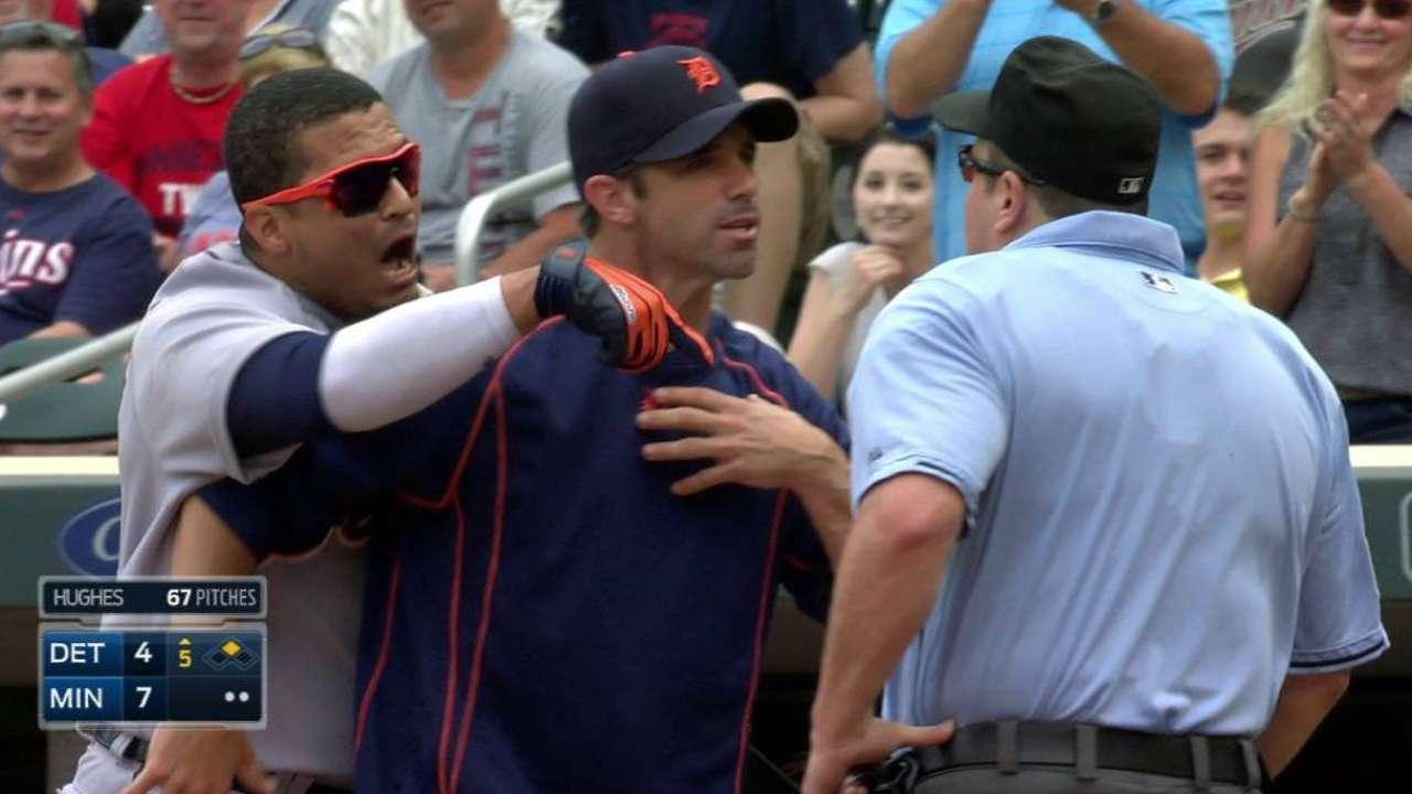 V. Martinez gets ejected