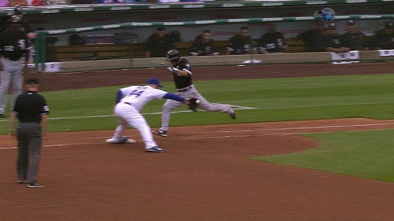 Bryant gets putout after review