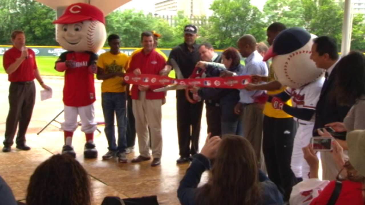 Queensgate Field renovation unites community