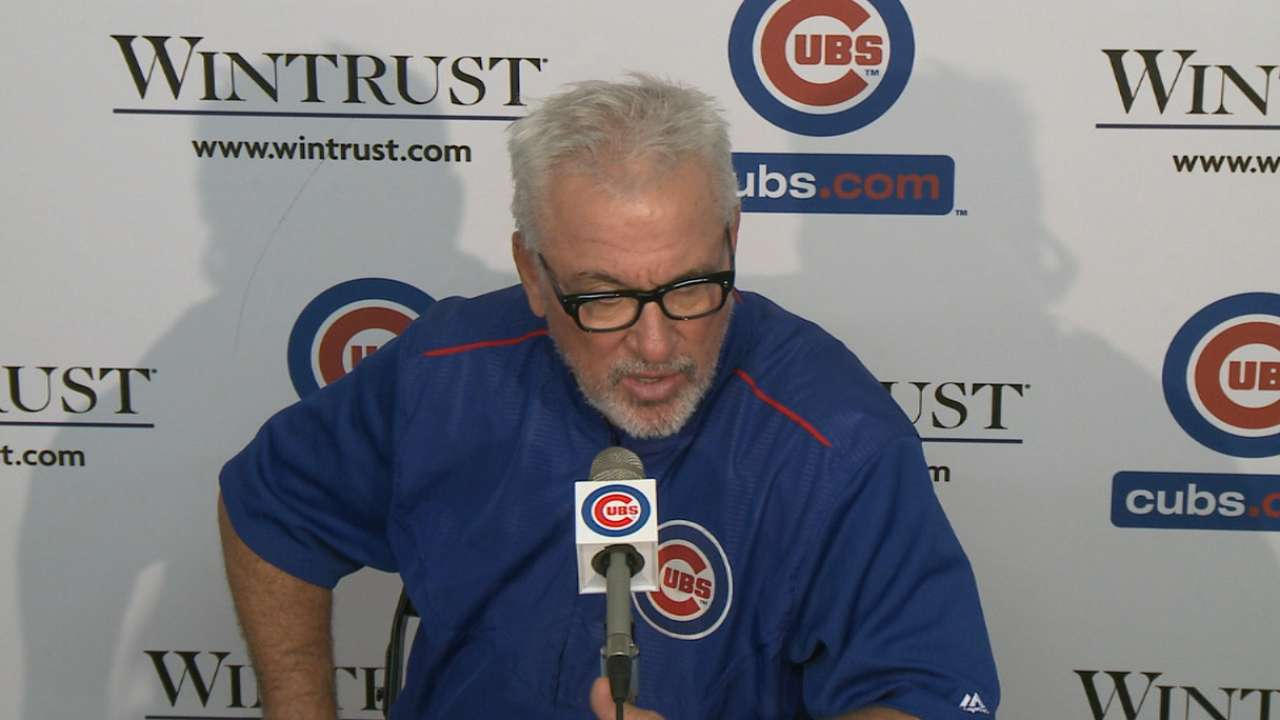 Maddon on Lester, offense