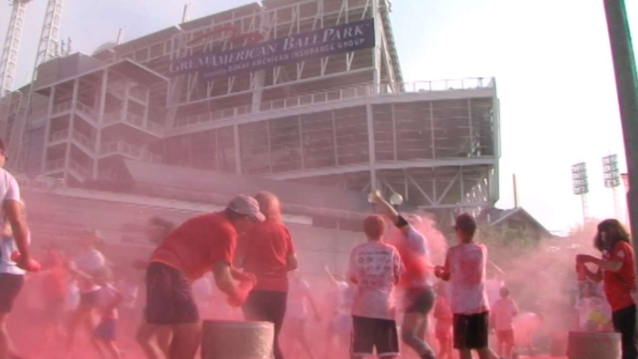 'Nasty Boys' get Color Run started in Cincy