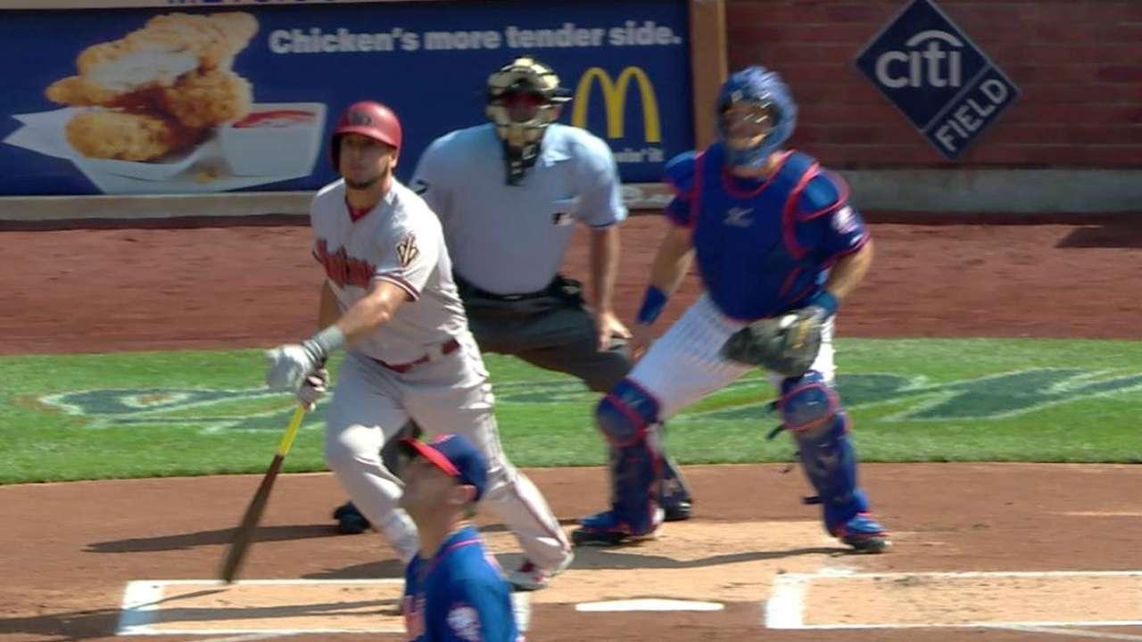 Corbin fue descarrilado por tres jonrones de Mets, D-backs caen