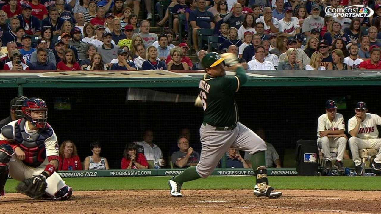 3-run 8th helps A's snap 3-game losing skid