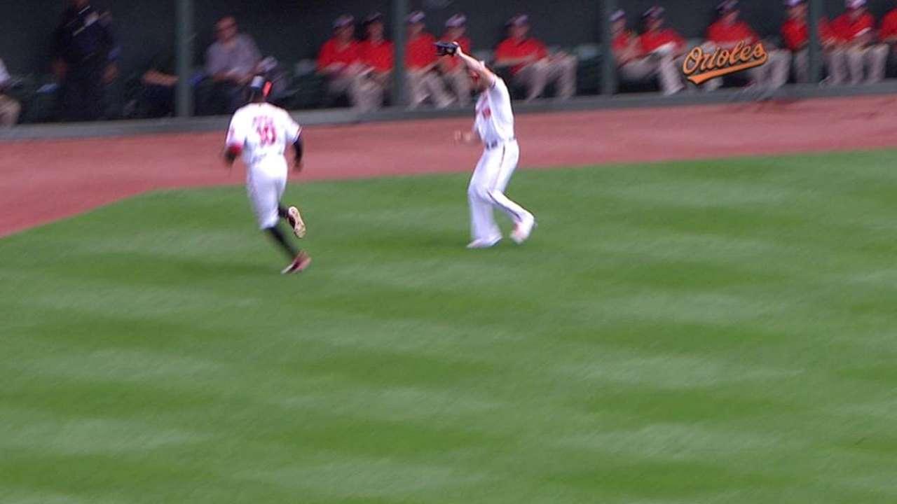 Davis' fine catch