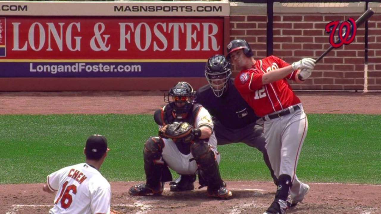 Moore's two-run double