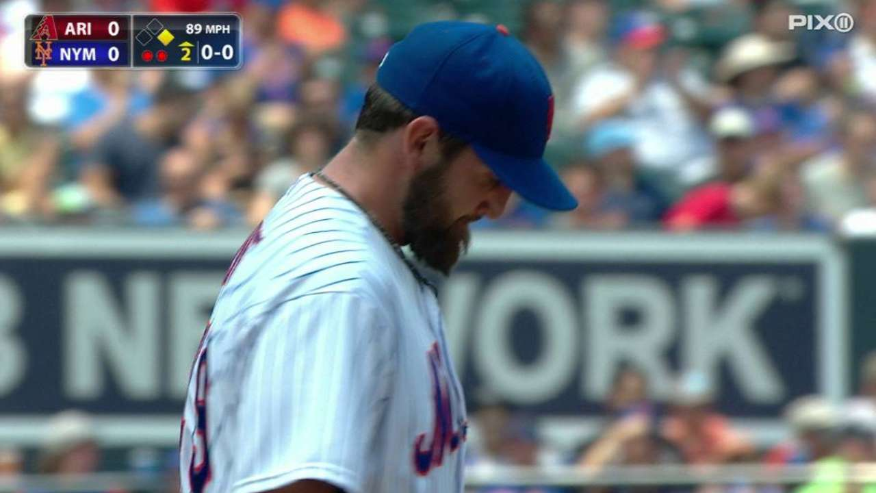 Niese strikes out Hill