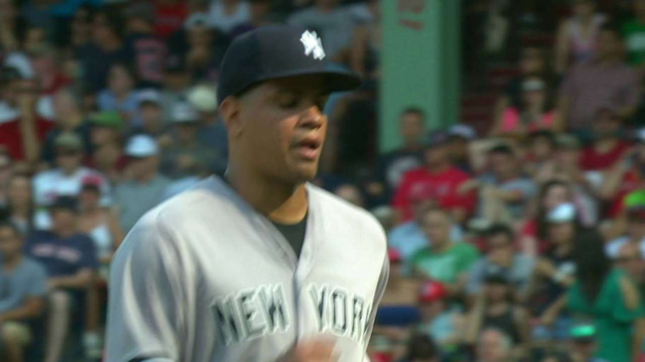 Betances works out of a jam