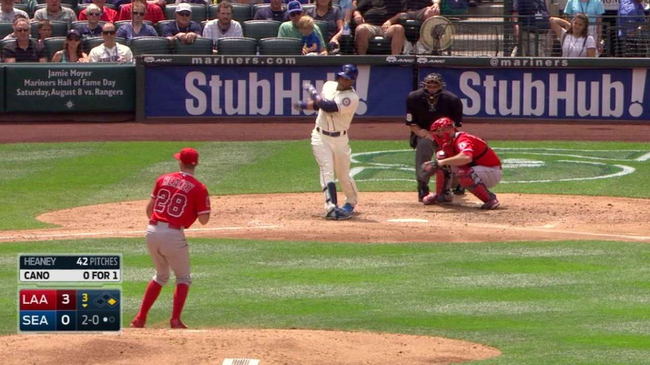 Pujols turns two on liner