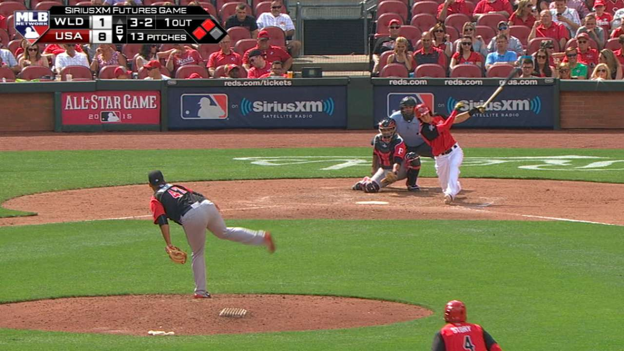Turner's two-run double