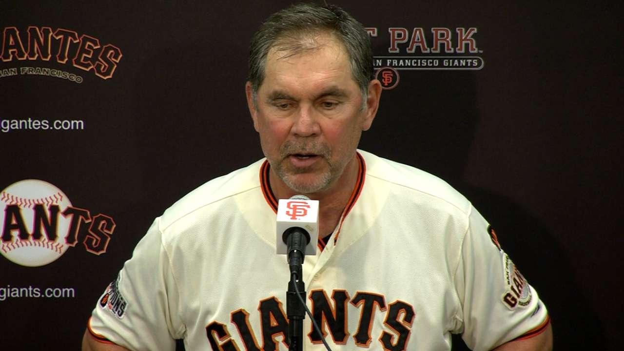Giants ride welcome momentum into break