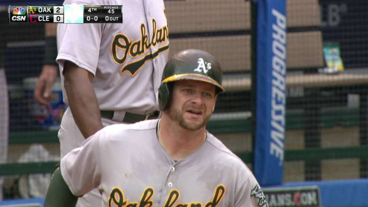 Vogt's towering two-run shot