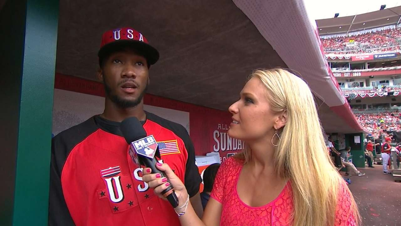 Garrett talks Futures Game