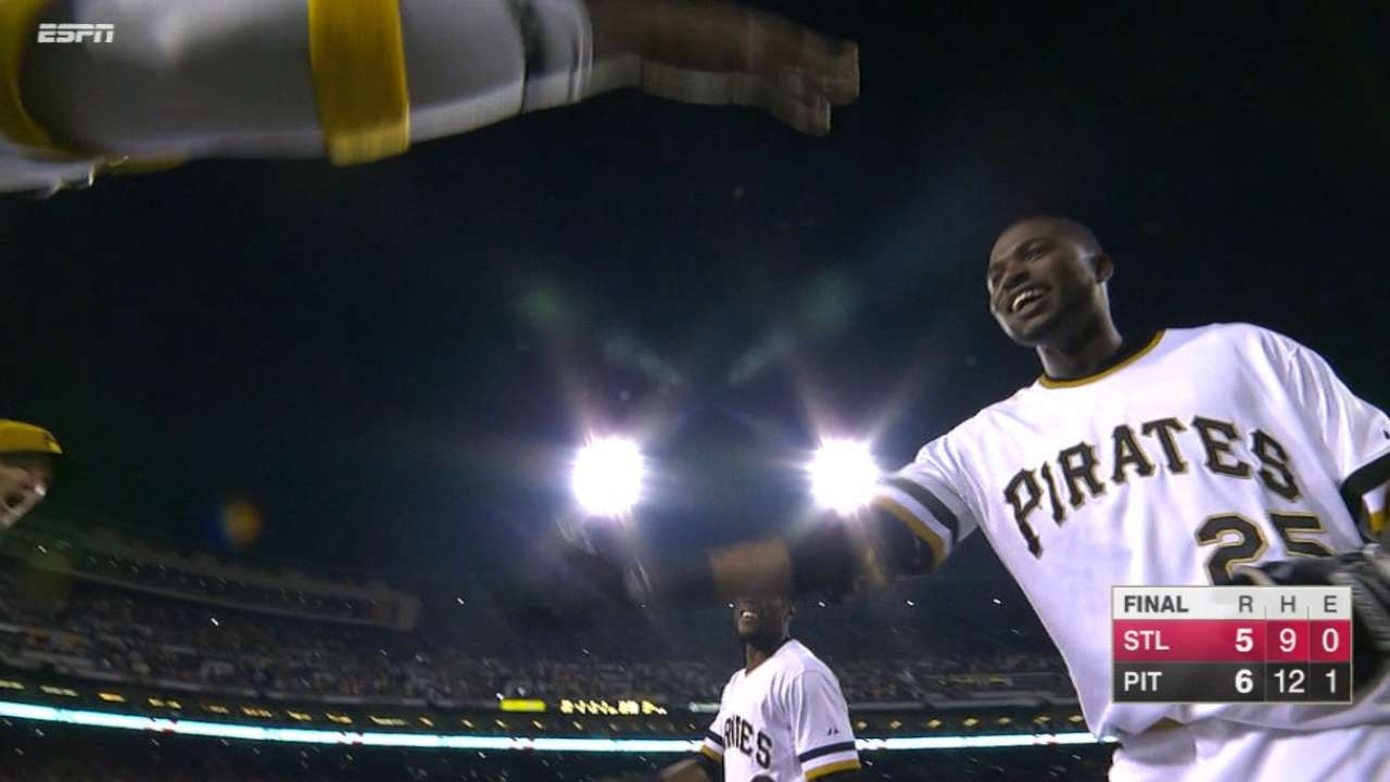 Hurdle: Pirates have 'room for improvement'