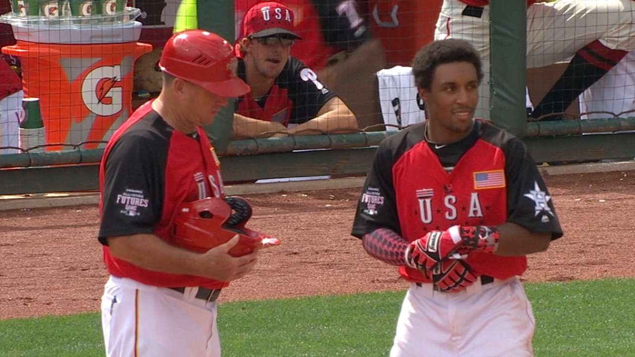 Kemp showcases talent at Futures Game