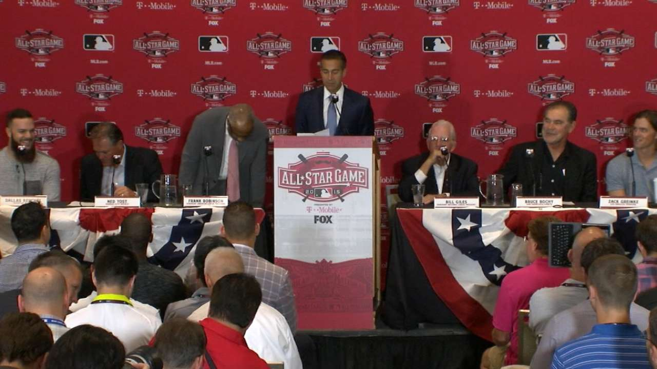 Giants' double-play tandem thrilled to be at first ASG