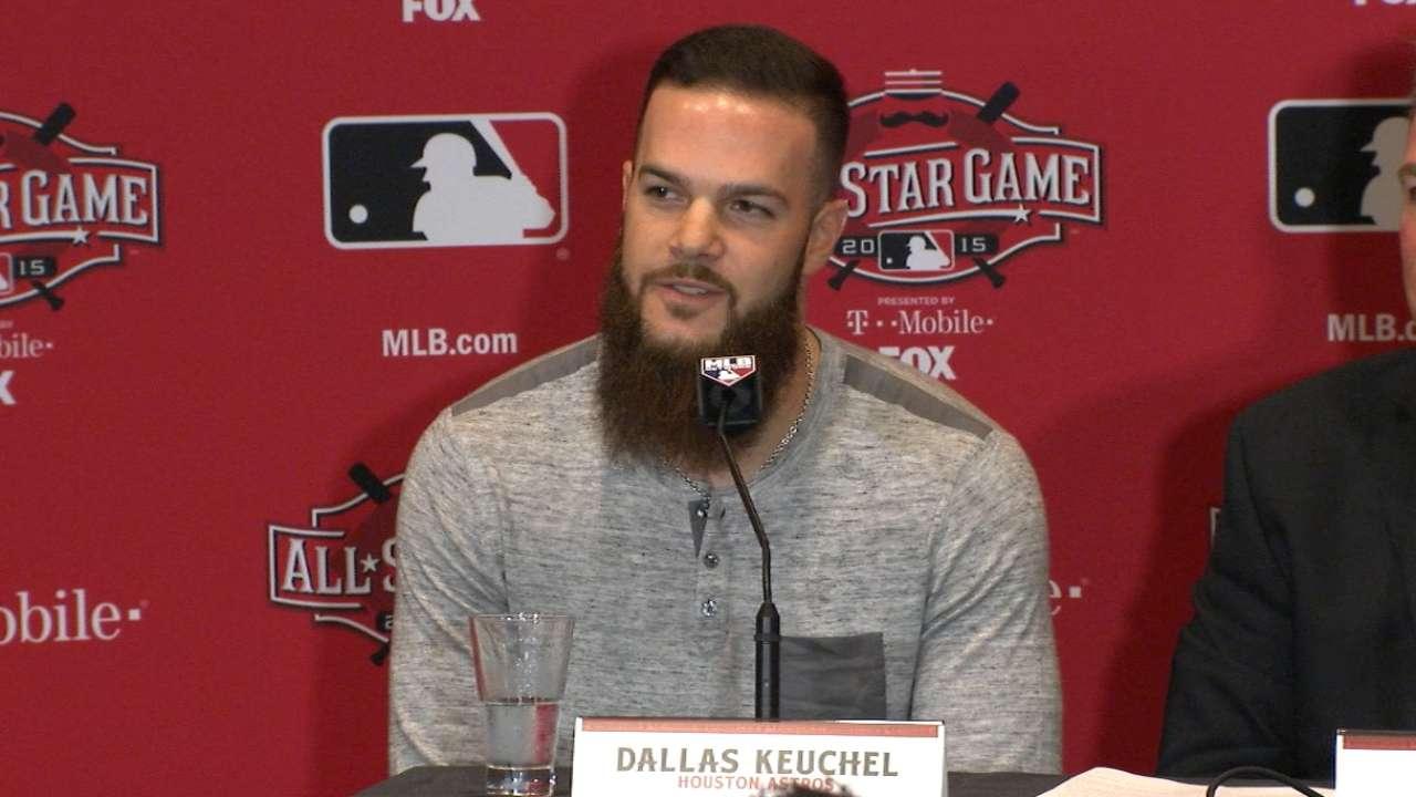 Keuchel named AL starter for All-Star Game